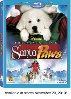 The Search for Santa Paws - Blu-Ray & DVD