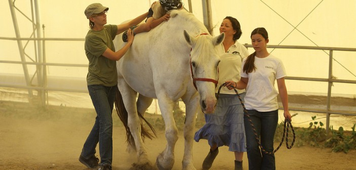 therapeutic horse back riding