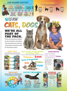 IFAW cats, dogs, and us poster (thumbnail)