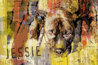 dog artwork sample