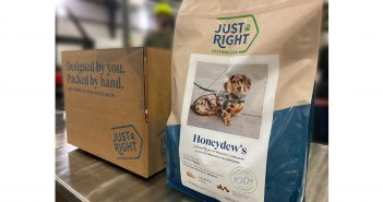Just Right Personalized Dog Food Press Release Banner