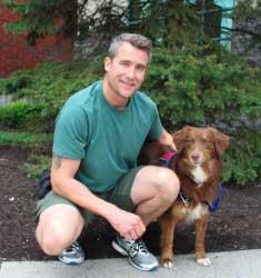 nathan and his dog penelope